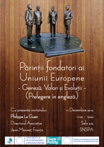 Afis Prelegere _ Parintii fondatori ai Uniunii Europene