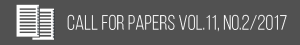 Call for papers [vol11_no2]2017